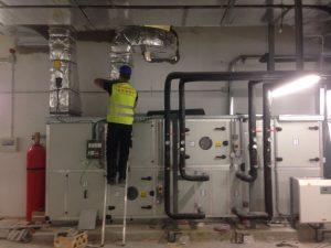 Sistemas de climatización en quirófanos